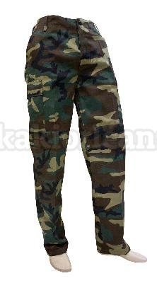 Pantalon US M65 Woodland