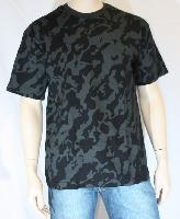 Tee shirt camo night 160g/m2