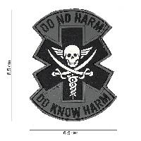 Patch 3D PVC DO NO HARM