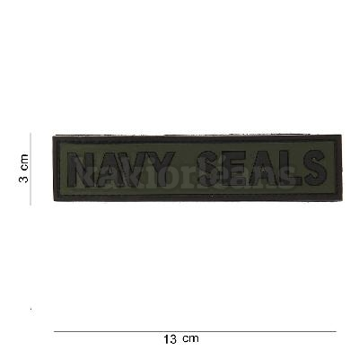 Patch 3D PVC NAVY SEALS