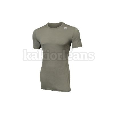 Tee shirt manches courtes LIGHTWOOL AKLIMA kaki